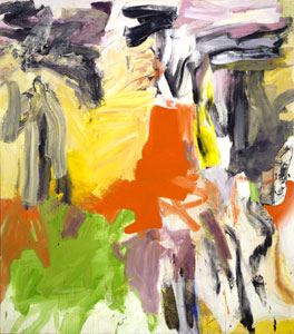 dekooning untitled i 1979 w Abstract Expressionist Willem de Kooning original on display at The University of Montana.